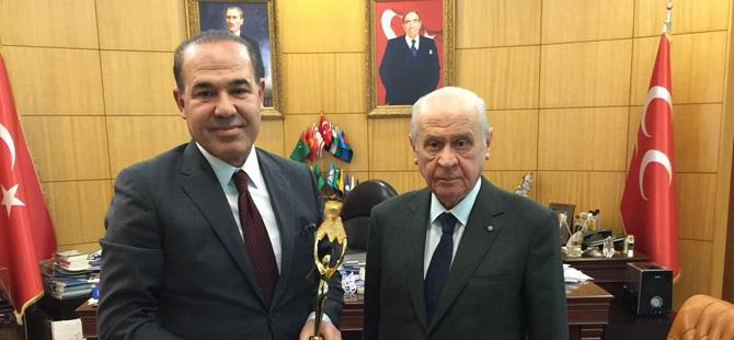 MHP Lideri Bahçeli Adana
