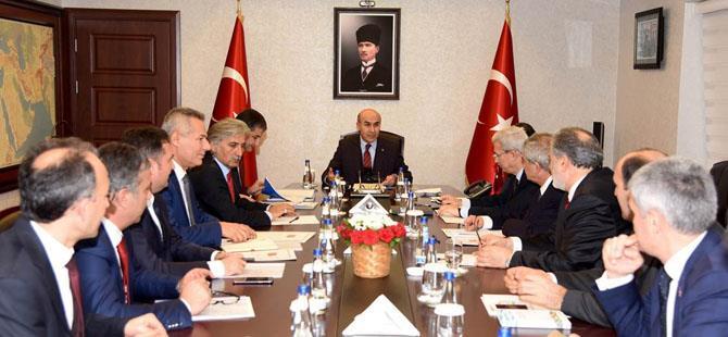 Vali Demirtaş başkanlığında toplantı