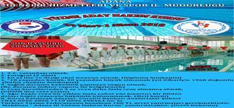 Adana'da Aday Yüzme Hakem Kursu Açılacak