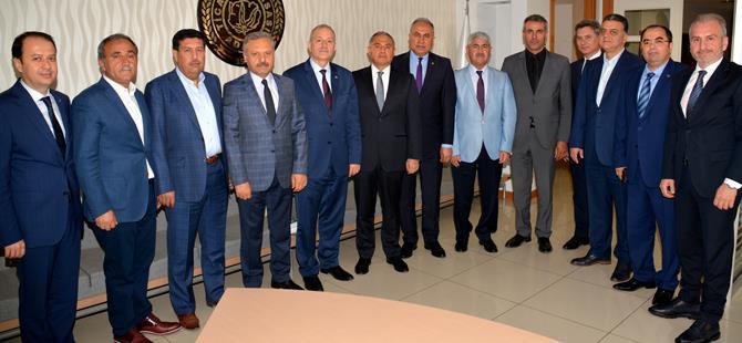 Başkanlar birarada