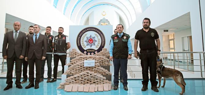 Adana polisinden büyük başarı