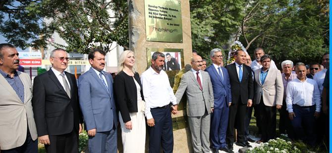 Şehit ikizlerin adının verildiği köprü ve anıt açıldı