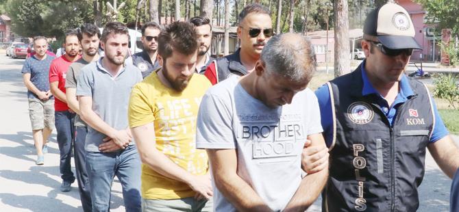 Adana merkezli 9 ilde FETÖ/PDY operasyonu