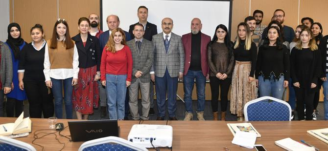 Vali Demirtaş'tan gazeteci adaylarına ziyaret