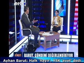 Ayhan Barut: Halk 'hayır', YSK 'evet' dedi