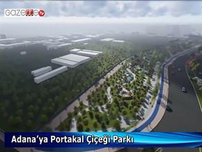 Adana'ya Portakal Çiçeği Parkı