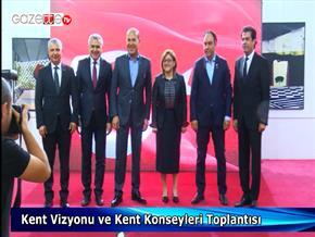 """""""Kent Vizyonu ve Kent Konseyleri Toplantısı"""""""