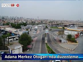 Adana Merkez Otogarı'nda düzenleme