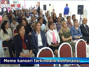 Meme kanseri farkındalık konferansı