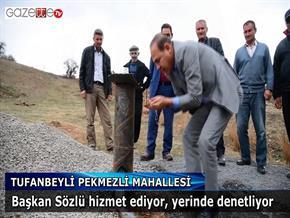 Başkan Sözlü Tufanbeyli