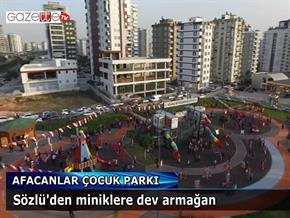 Afacanlar Çocuk Parkı açıldı