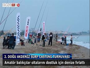2. Doğu Akdeniz Surf Casting Turnuvası