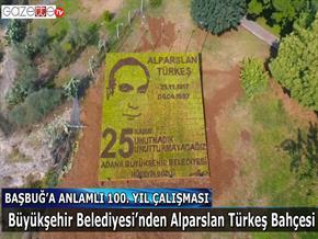 Büyükşehir Belediyesi'nden Başbuğ'a anlamlı 100. yıl çalışması