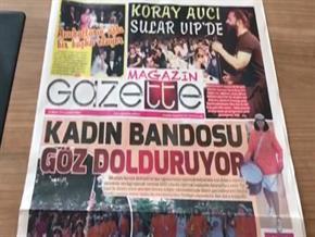 Adana magazininin nabzı GAZETTE