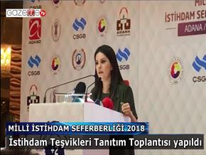 Milli İstihdam Seferberliği 2018 Adana