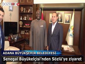 Senegal Büyükelçisi'nden Sözlü'ye ziyaret
