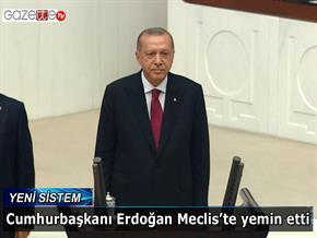 Cumhurbaşkanı Erdoğan Meclis