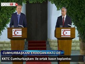 Cumhurbaşkanı Erdoğan KKTC