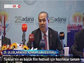 25. Uluslararası Adana Film Festivali basın toplantısı