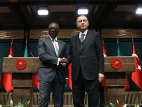 Başkan Erdoğan Benin Cumhurbaşkanı