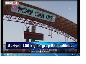 Suriyeli 100 kişilik grup Bab
